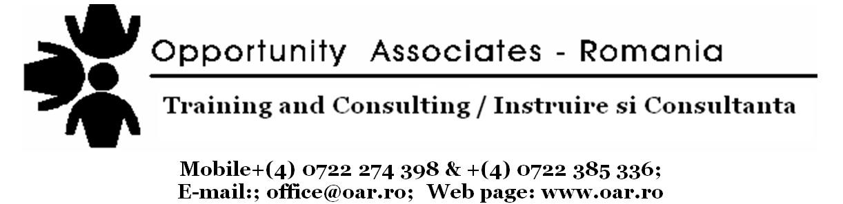Opportunity Associates Romania